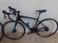 Bicicletta marca ''BH QUARTZ''  colore nero e azzurro