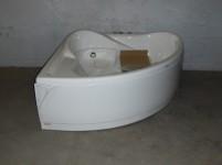 Vasca angolare con idromassaggio