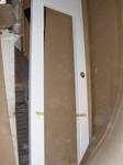 Stock di pannelli e porte in legno
