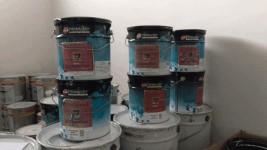 STOCK  di Latte pittura - Stucco - e altri prodotti per l'edilizia