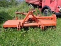 Fresa agricola per trattore.