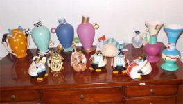 Vasi e altri elementi decorativi