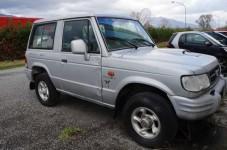 Autovettura per il trasporto di persone, marca Hyundai, modello Galloper (previa ...