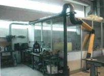 Struttura coperta in alluminio, vetro e legno (vendita a corpo)