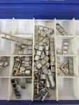 N.4 scatole contenenti pezzi di bracciali componibili marca Nomination