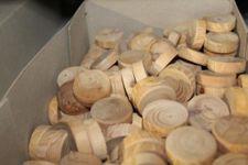 Lotto 97 - Rondelle in legno
