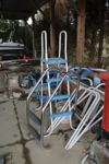 Lotto 145 - Scaletta in acciaio