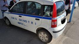 Autocarro Fiat modello Panda benzina