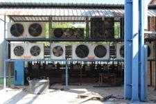Gruppo refrigerazione n. 5 gruppi di ventole per scambiatore d'aria