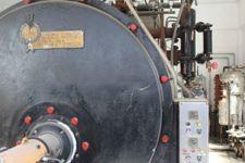 Caldaia (generatore di vapore da 2.500 Kg/h) di marca Oreste Luciani
