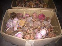 N.400 pezzi circa di cestinetti piccoli in vimini di varie forme