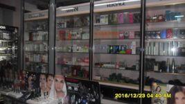 Stock prodotti profumeria