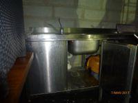 Lavello 2 vasche + sgocciolatoio + miscelazione