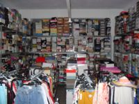 Stock abbigliamento ed accessori