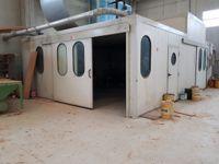Cabina forno asciugatura (Cod. X010)