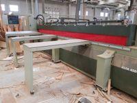 Stock di macchinari ed attrezzature per falegnameria