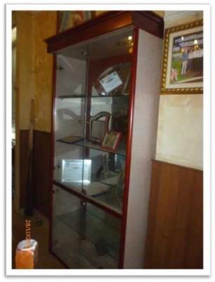 Telematics Auction Vetrina con ante in vetro munite di serratura zu ...