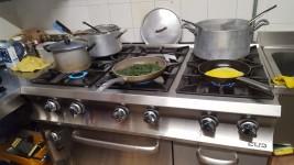 Attrezzatura cucina per ristorante
