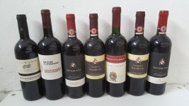 N. 356 bottiglie di vino di varie marche e annate