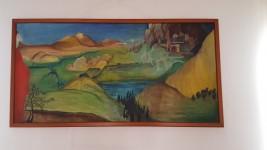 Quadro con ritratto, n. 3 quadri ad olio e n. 5 stampe