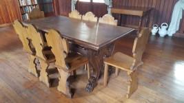 Tavolo con 8 sedie