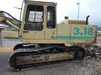 Escavatore Benati 3.18 Fiat 330 privo di targa