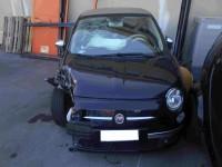 AUTO FIAT 500 CABRIO ANNO 2012 BENZINA