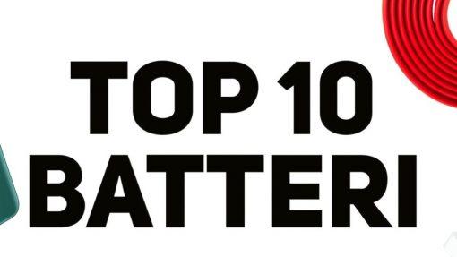 Top 10: Telefoner med bedste batteritid