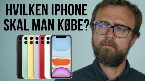 Hvilken iPhone skal man købe? Guide til bedste køb