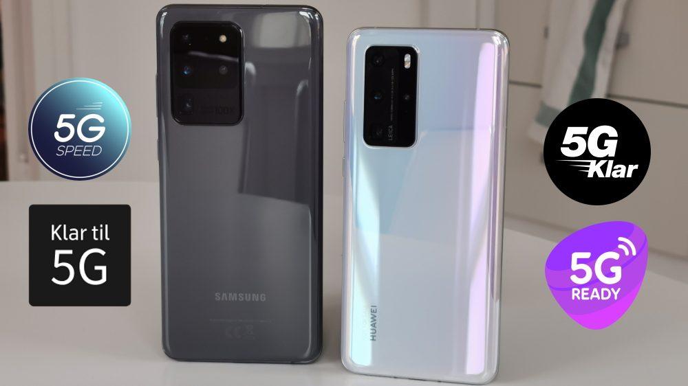 Top 10 telefoner med 5G