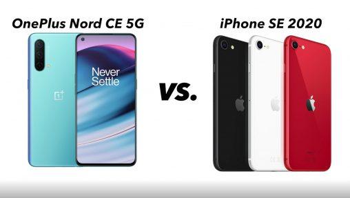 OnePlus Nord CE 5G mod iPhone SE 2020 – det bedste køb?