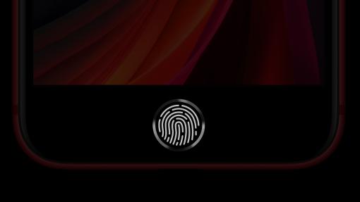 iPhones med Touch ID-fingeraftrykslæser