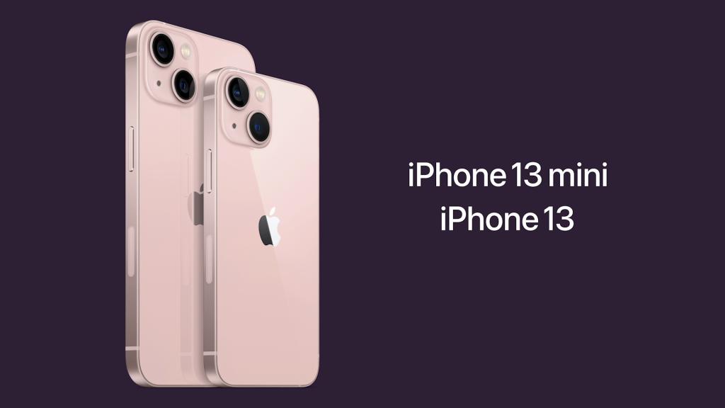 Priser på iPhone 13 og 13 Mini
