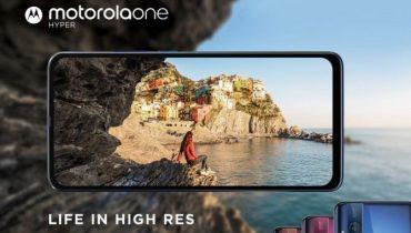 Fra i dag kan du forudbestille Motorola One Hyper