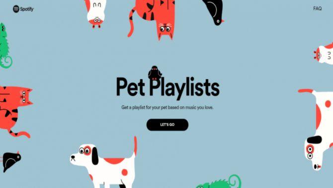 Spotify har nu playlister til dit kæledyr