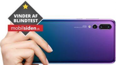 Android 10 til Huawei P20 Pro kommer inden længe