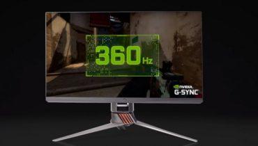 Første indtryk og test af NVIDIAs 360Hz esports skærm