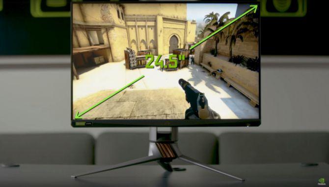 NVIDIAs nye gamingskærm har 360 Hz refresh rate