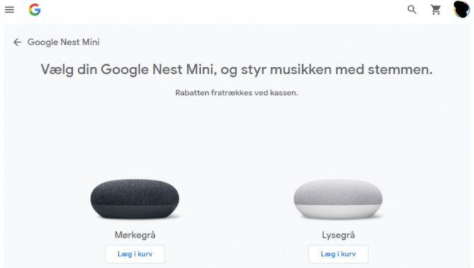 Google giver gratis Nest Mini'er til abonnenter