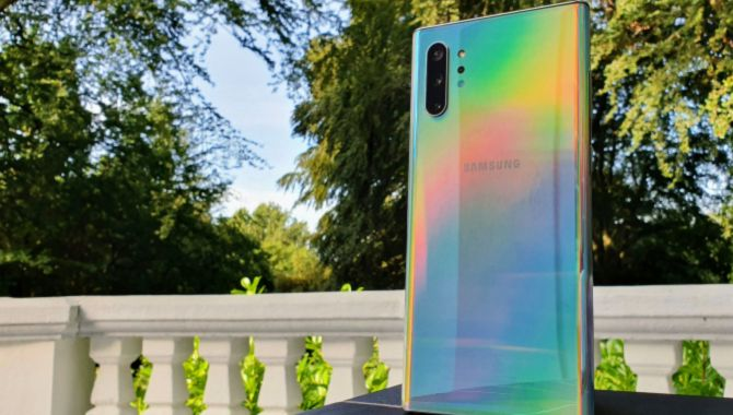 Danske Samsung Galaxy Note10 får nu Android 10