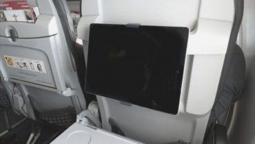 Airmate lancerer tablet-holder til flyrejsen