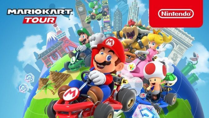 Mario Kart Tour er årets mest downloadede spil til iPhone