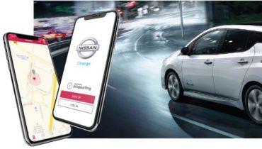 Nissan Charge-appen gør det nemt at oplade bilen