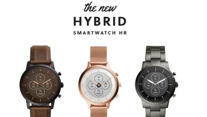 Fossil lancerer ny serie af hybrid-ure