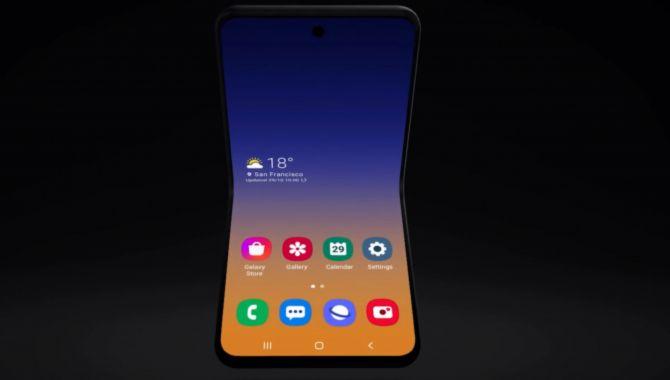 Samsungs næste foldbare bliver en klaptelefon
