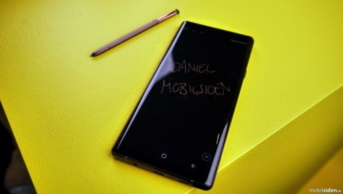 Ældre Samsung Galaxy Note-enheder får opdatering med Note10-funktion