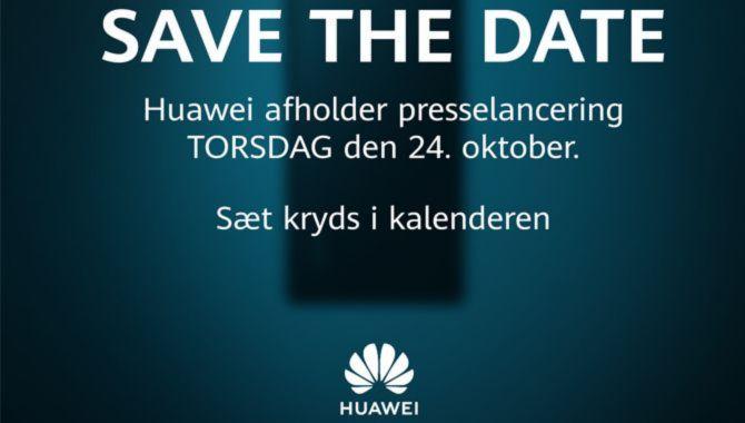Huawei inviterer til dansk lancering af flagskib