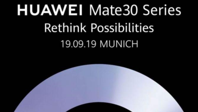 Huawei Mate 30 Pro-event: Sådan følger du med