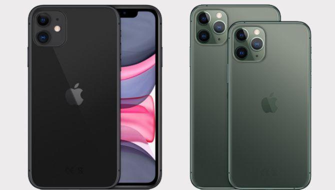 Forskellen på iPhone 11 og iPhone 11 Pro