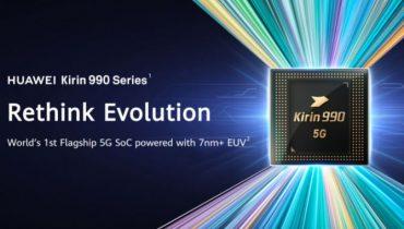 Huawei lancerer Kirin 990: 5G og endnu bedre batteritid